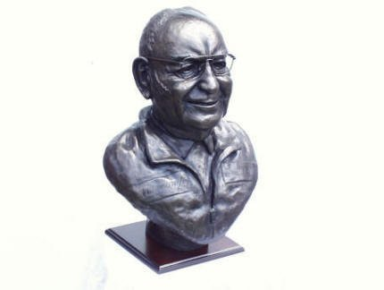 Tom Wheatrcroft bronze bust