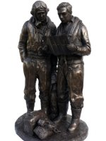 Mossie Crew bronze sculpture